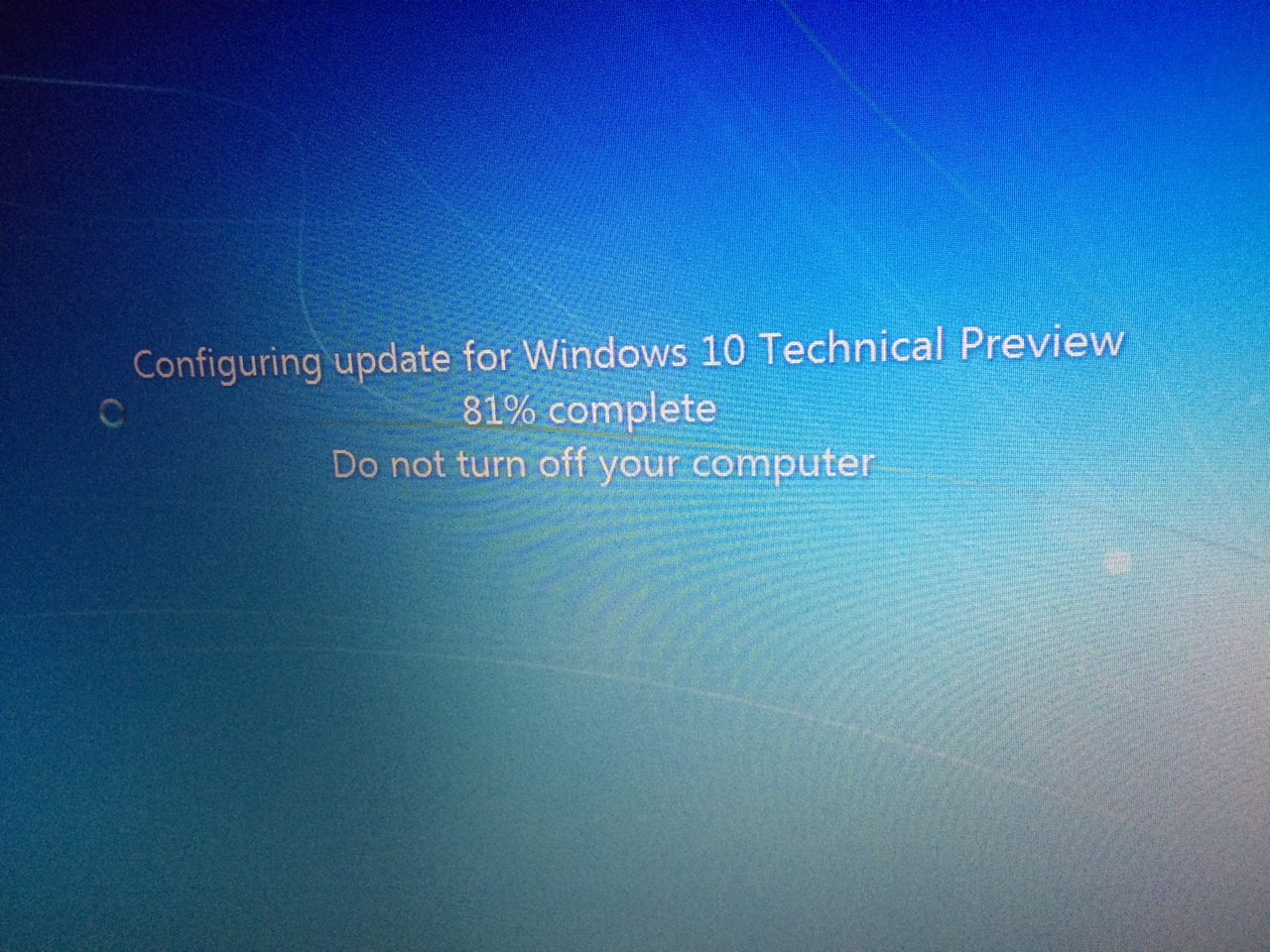 configuring update for windows 10
