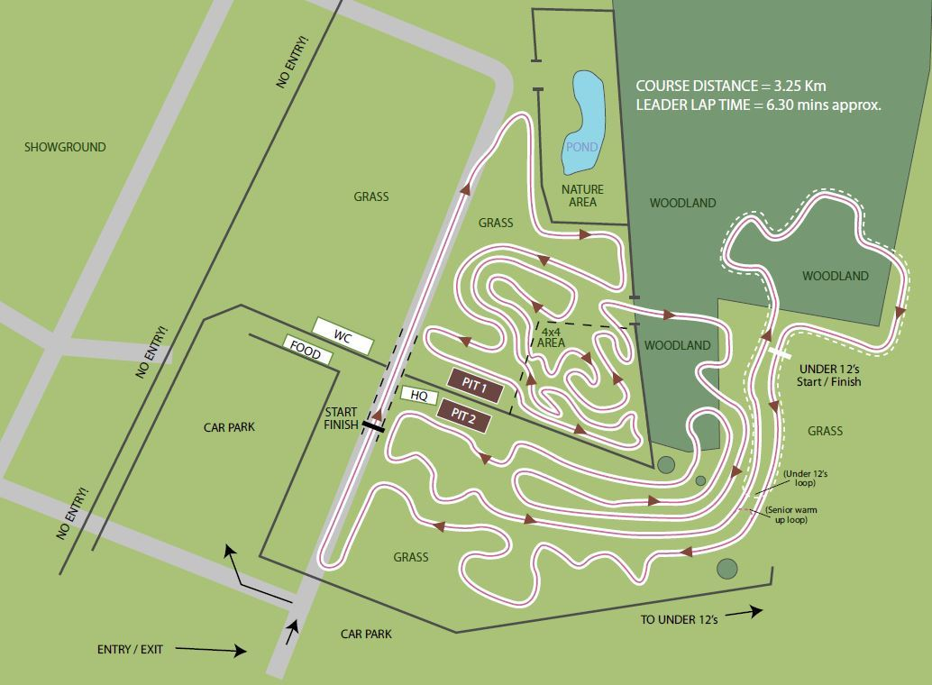 how to build a cyclocross course