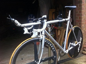 Cannondale time trial bike