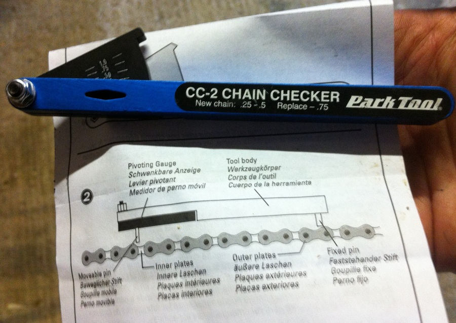 How to check chain stretch sports gear under test - Div checker tool ...