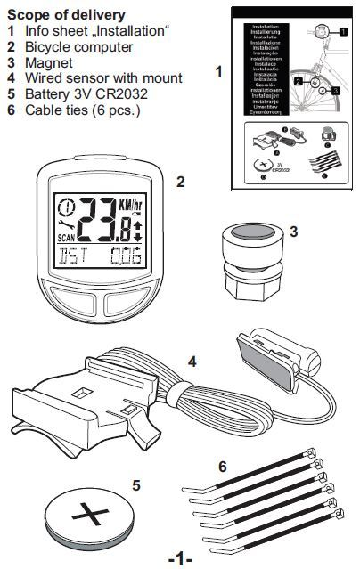cateye velo wireless instructions
