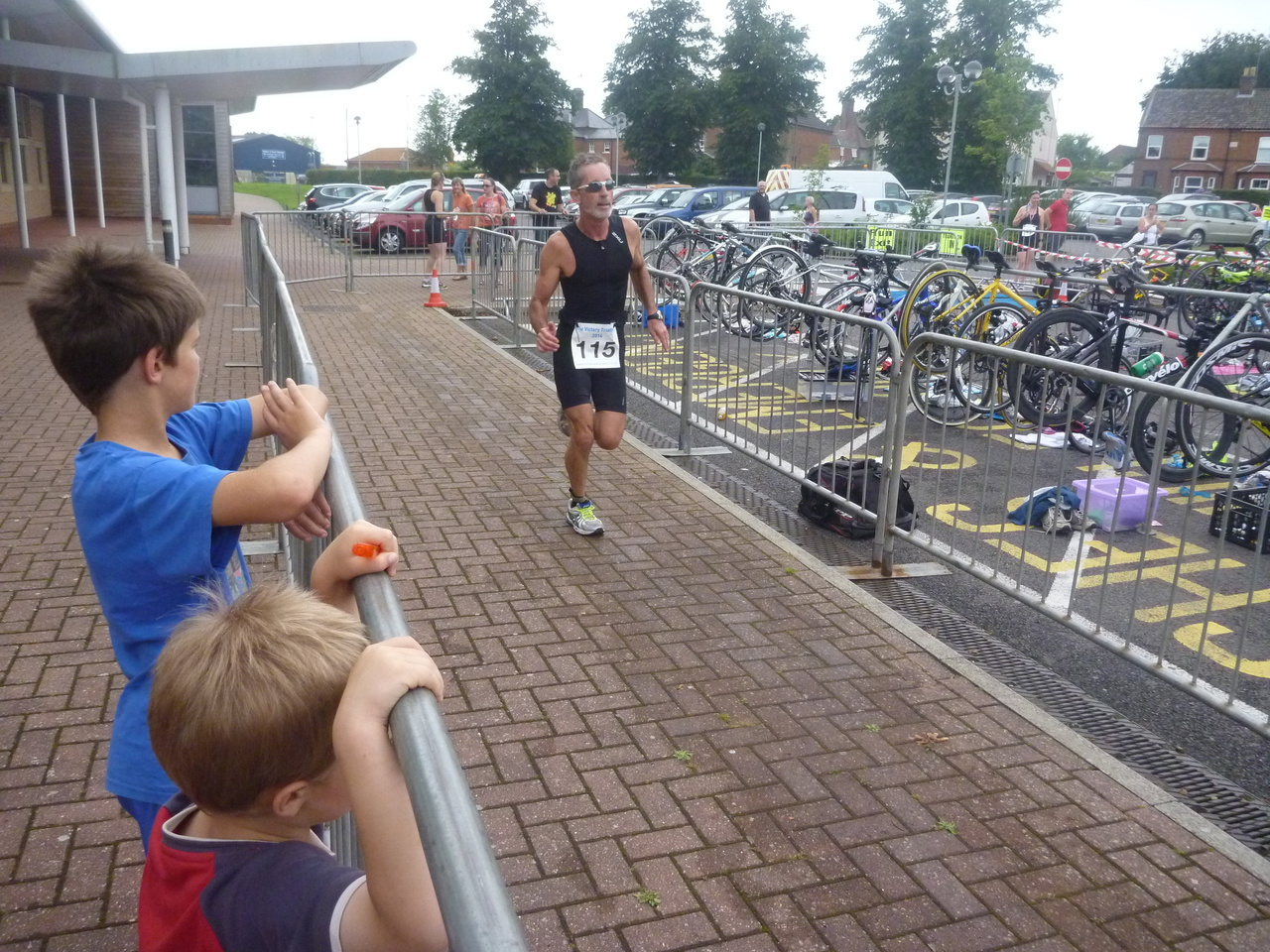 Victory Triathlon 2014 Cycling