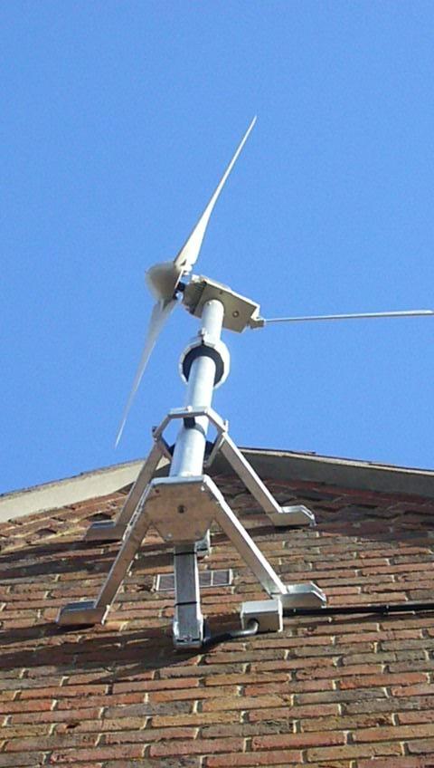 House Wind Turbine Vs. Low Profile Vent | LIVESTRONG.COM